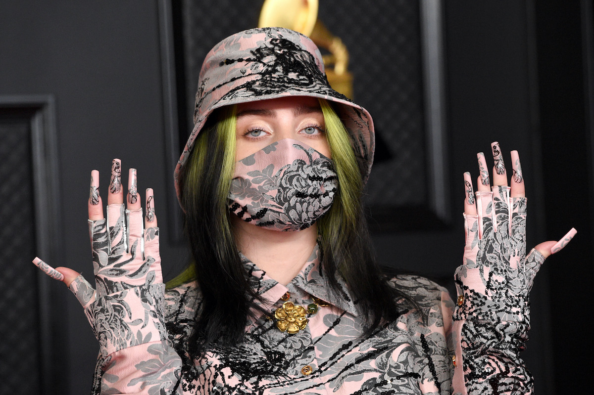 Billie Eilish at the 63rd Annual GRAMMY Awards in 2021