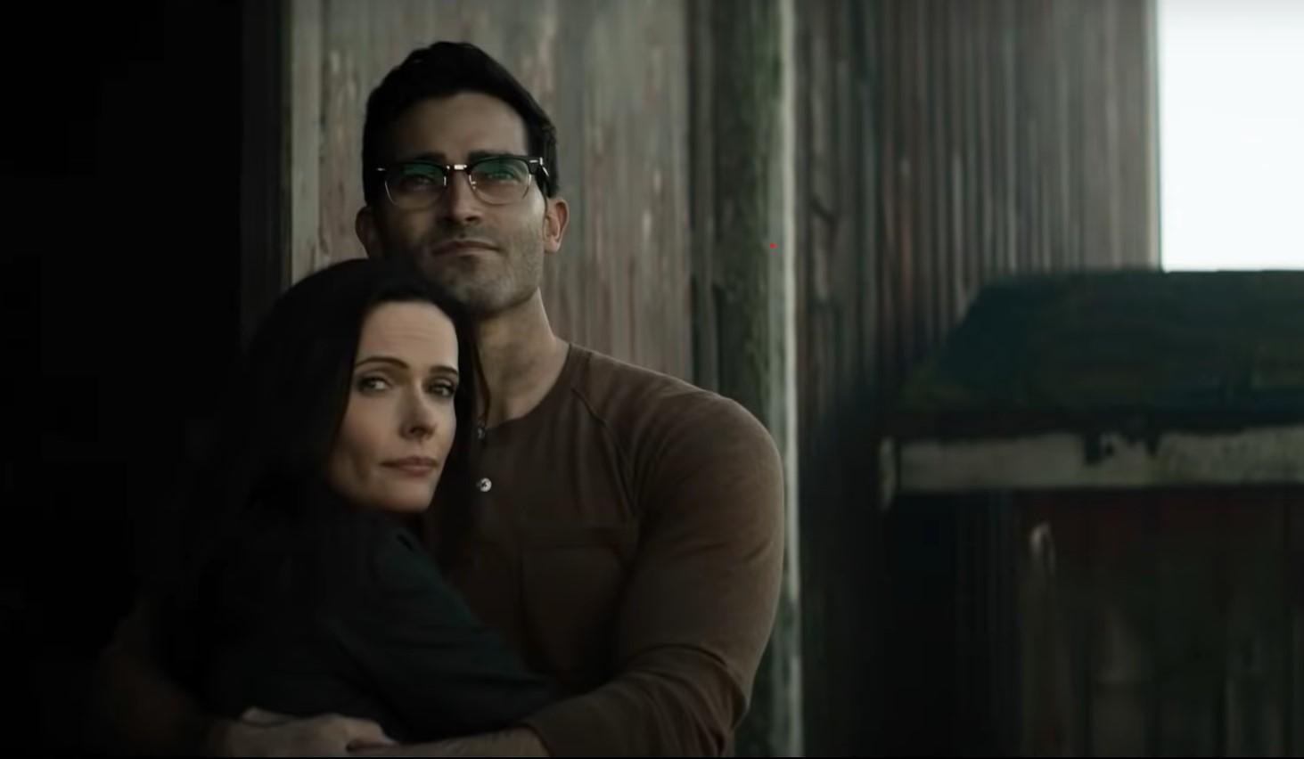 Bitsie Tulloch and Tyler Hoechlin in 'Superman & Lois'