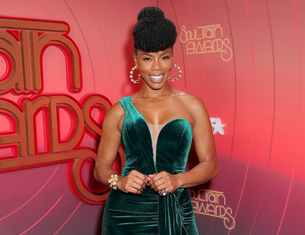 Brandee Evans attends the 2020 Soul Train Awards presented by BET.