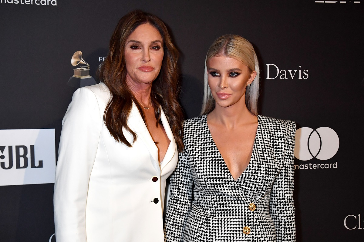 Caitlyn Jenner and Sophia Hutchins attend The Recording Academy And Clive Davis' 2019 Pre-GRAMMY Gala at The Beverly Hilton Hotel on February 9, 2019 in Beverly Hills, California.