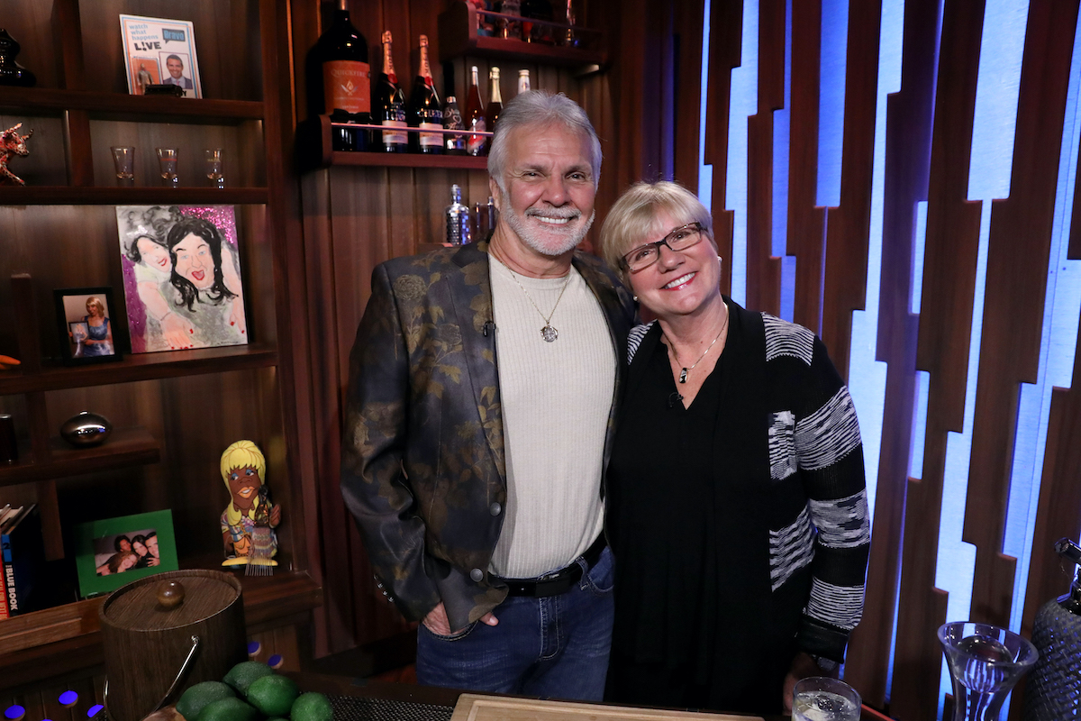 Captain Lee and Mary Anne Rosbach on WWHL