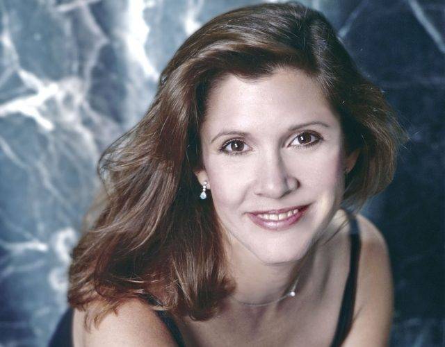Carrie Fisher Quit School at a Very Young Age