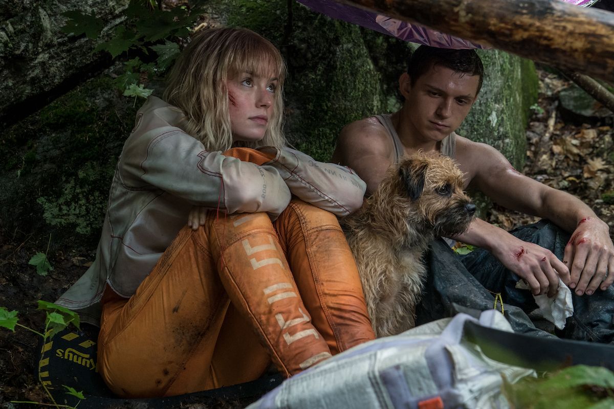 Daisy Ridley and Tom Holland in 'Chaos Walking'