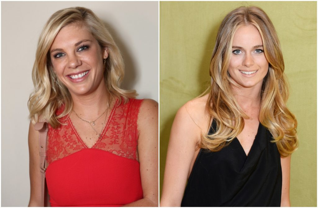 Photos of Chelsy Davy and Cressida Bonas side by side