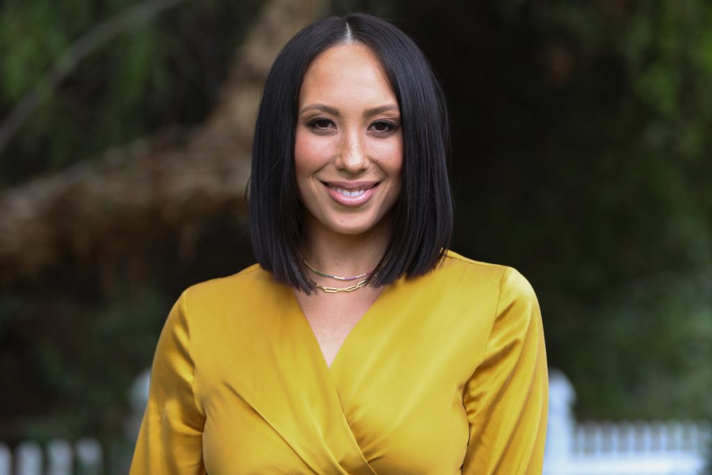 Cheryl Burke, a 'Dancing With the Stars' pro dancer