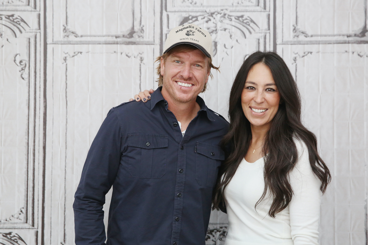 Chip and Joanna Gaines at the Build Series in New York City