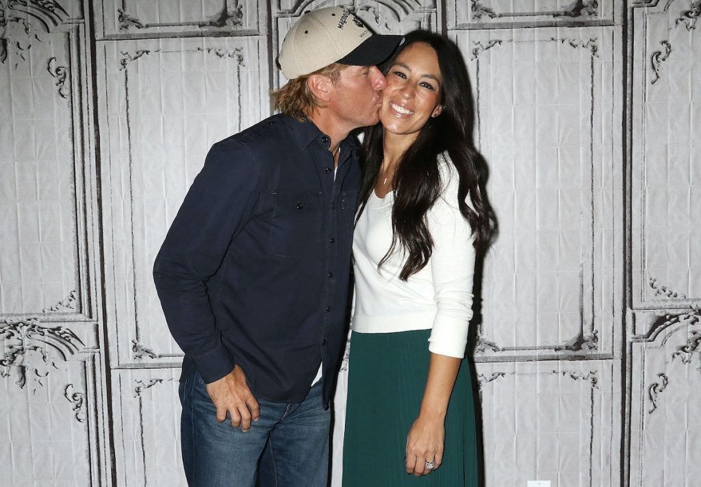 Chip and Joanna Gaines in New York City in 2016
