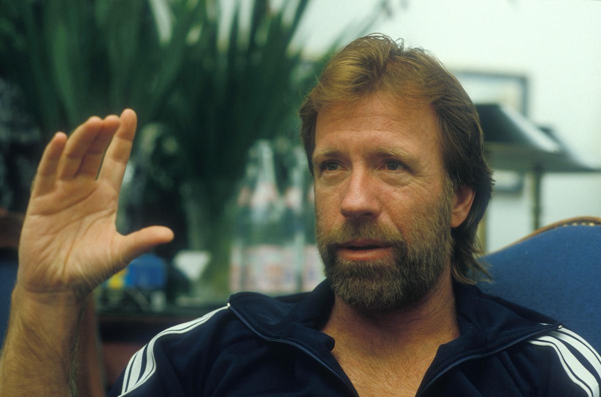 Chuck Norris in 1985