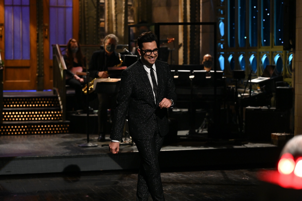 Dan Levy during his 'Saturday Night Live' hosting gig