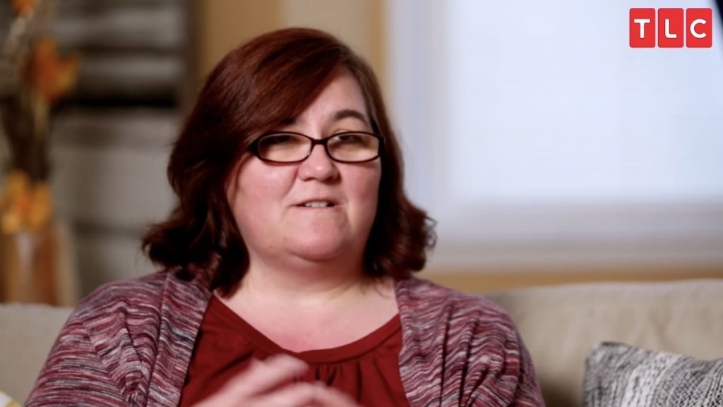 Danielle Mullins in '90 Day Fiancé Happily Ever After'
