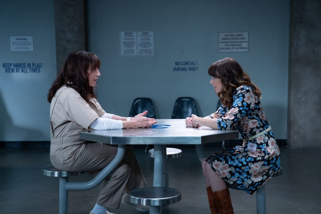 Dead to Me Katey Sagal as Judys mom Eleanor and Linda Cardellini as Judy Hale