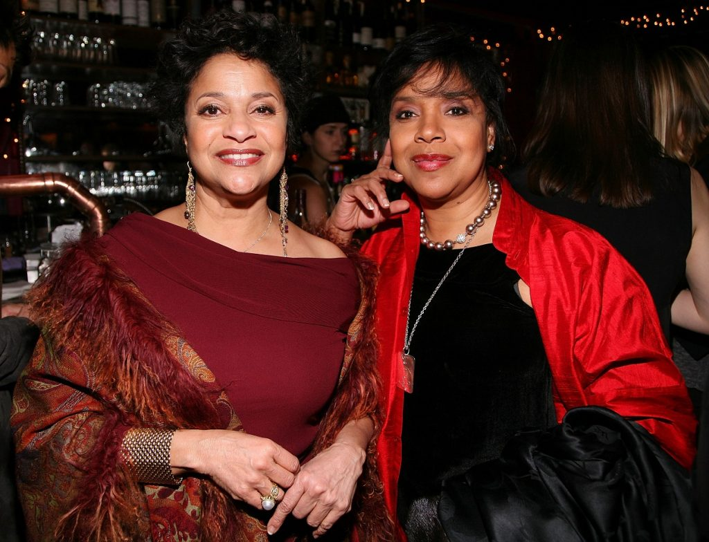 sisters Debbie Allen and Phylicia Rashad attend New York Magazine Oscar party in 2008
