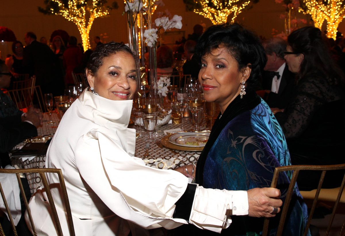Debbie Allen and Phylicia Rashad at The Music Center.