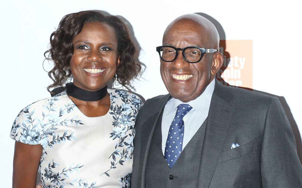 ABC News correspondent Deborah Roberts and 'Today Show' star Al Roker attend the 45th Chaplin Award Gala honoring Helen Mirren at Alice Tully Hall