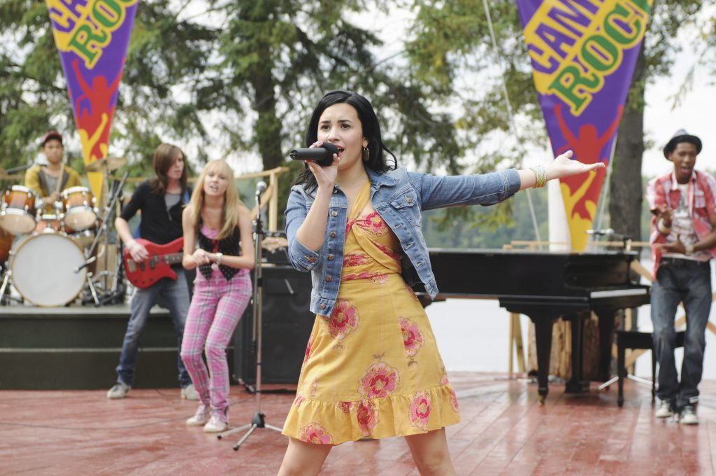 The cast of Disney Channel's 'Camp Rock 2: The Final Jam' starring Demi Lovato and the Jonas Brothers
