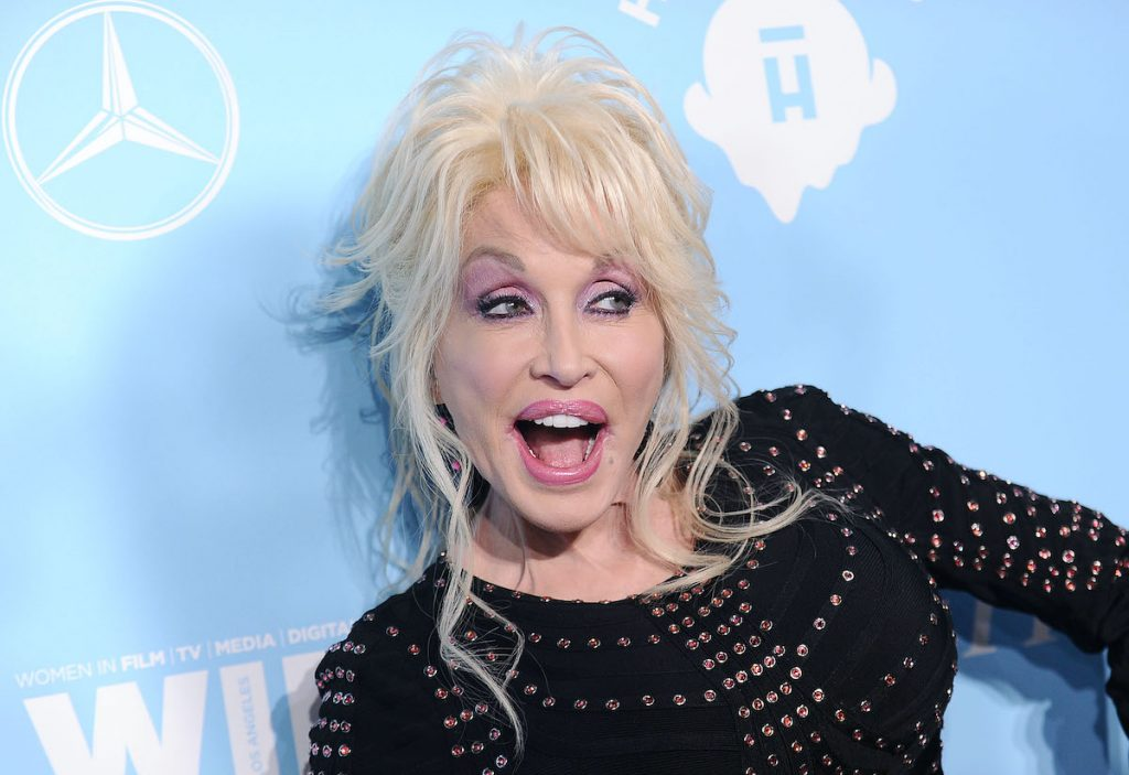 Dolly Parton attends Variety and Women In Film's 2017 pre-Emmy celebration