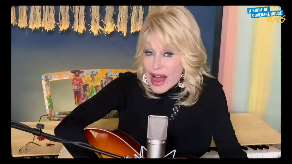 Dolly Parton performs during A Night Of Covenant House Stars