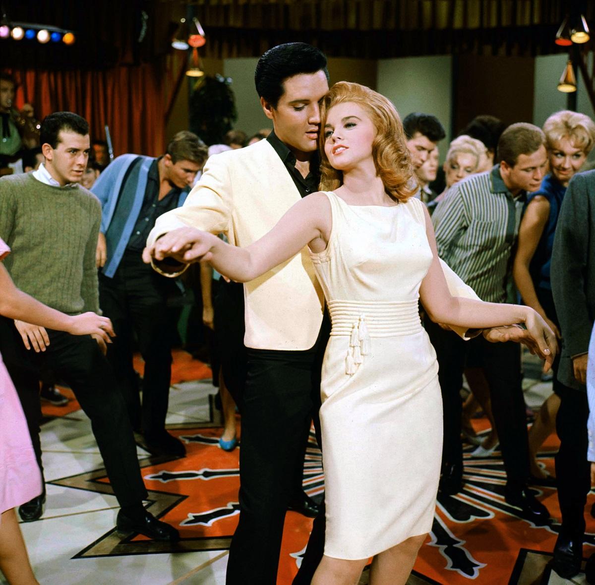 Ann-Margret and Elvis Presley dancing in 'Viva Las Vegas,' directed by George Sidney