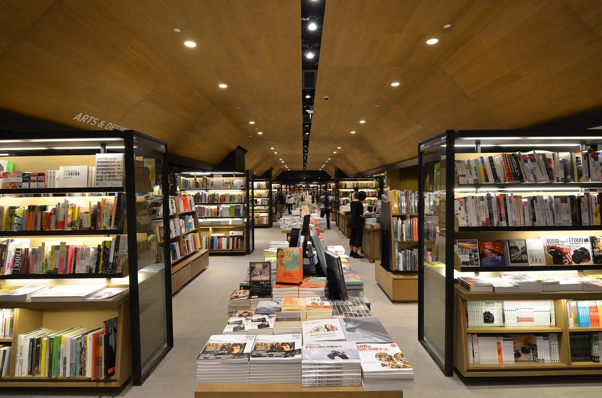 The Taiwanese-owned Eslite bookstore, a large new outlet in the Hysan Place mall