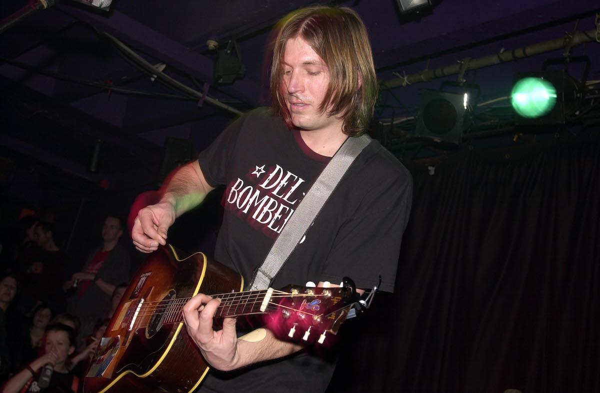 Evan Dando plays at a concert several years ago