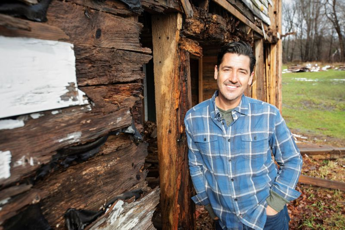 Farmhouse Fixer host and former member of New Kids on the Block Jonathan Knight