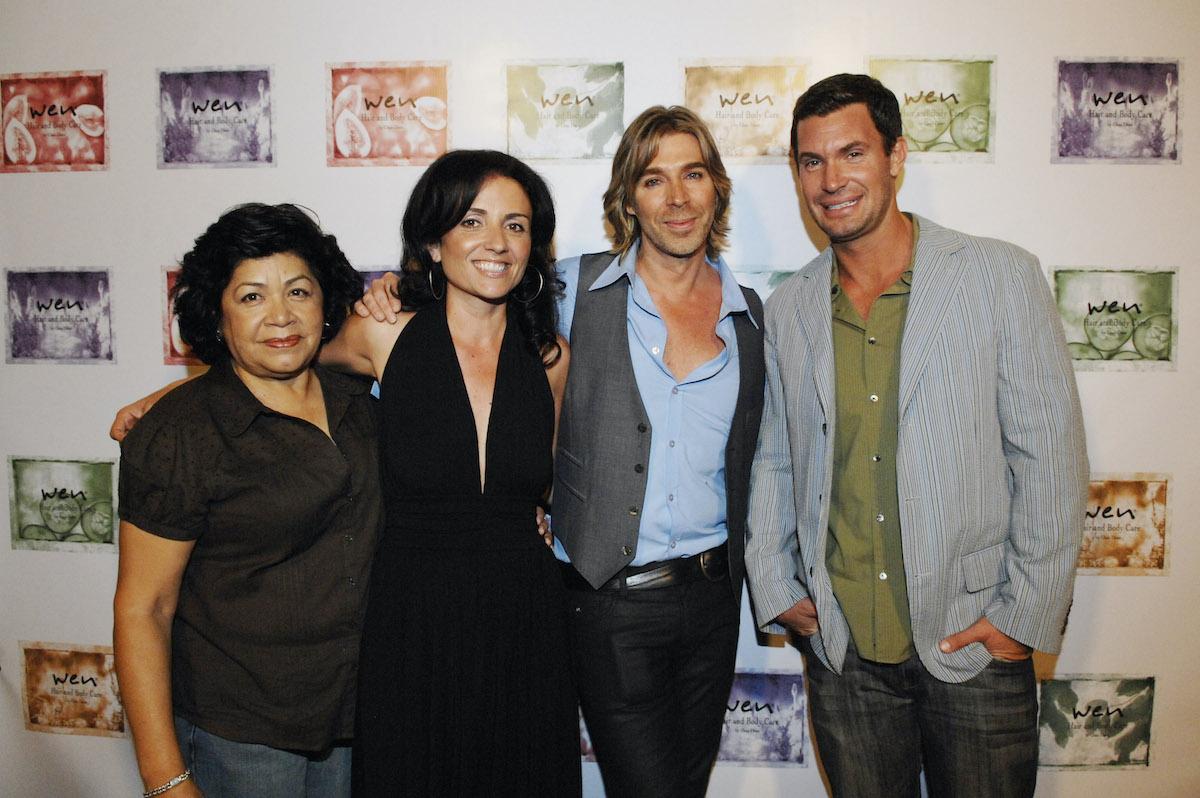 Zoila Chavez, Jenny Pulos, Chaz Dean, and Jeff Lewis at the Chaz Dean Salon Product Launch