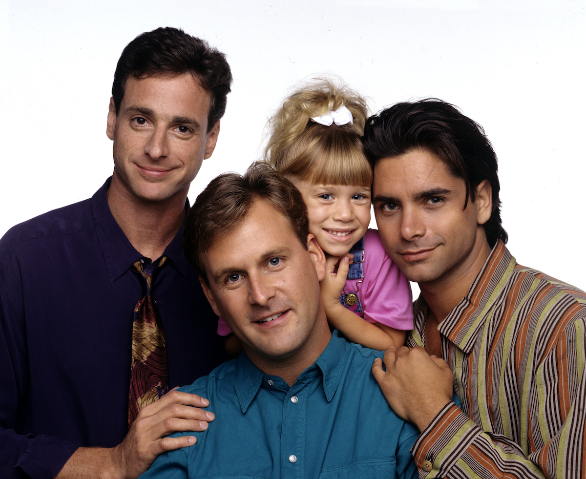 'Full House' stars Bob Saget, Dave Coulier, Mary-Kate Olsen, and John Stamos