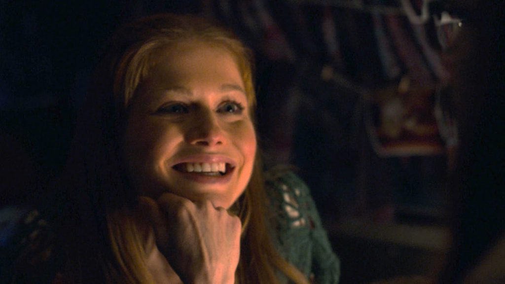 Genevieve Angelson as Sally smiling on 'This Is Us' Season 5 Episode 11