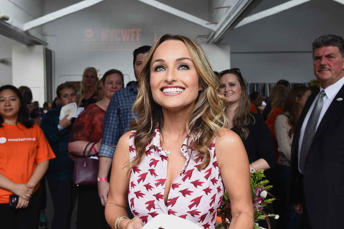 Giada De Laurentiis hosts an event at the 2017 New York City Wine and Food Festival