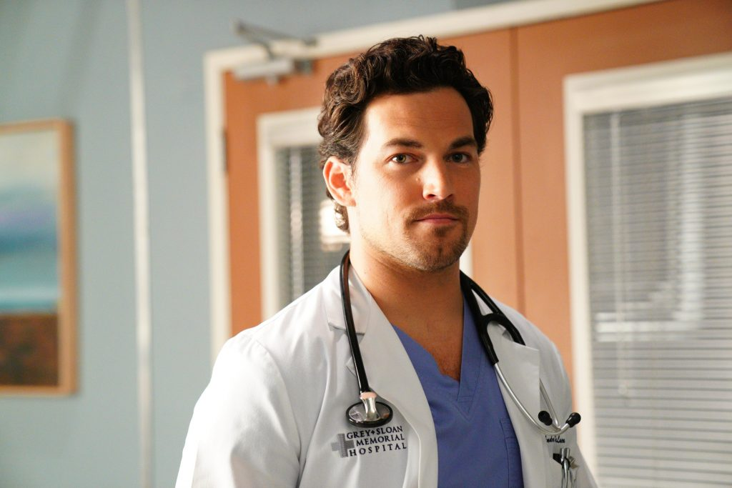 Greys Anatomy Andrew DeLuca portrayed by Giacomo Gianniotti