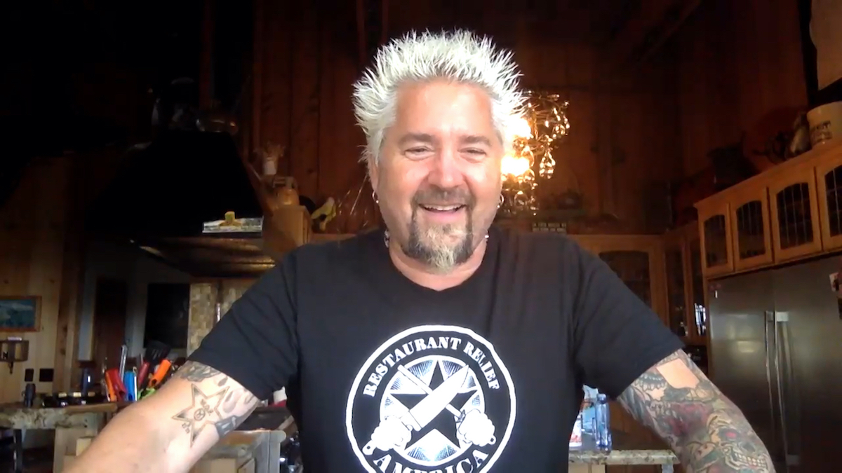 Guy Fieri making an appearance on 'The Tonight Show' with Jimmy Fallon