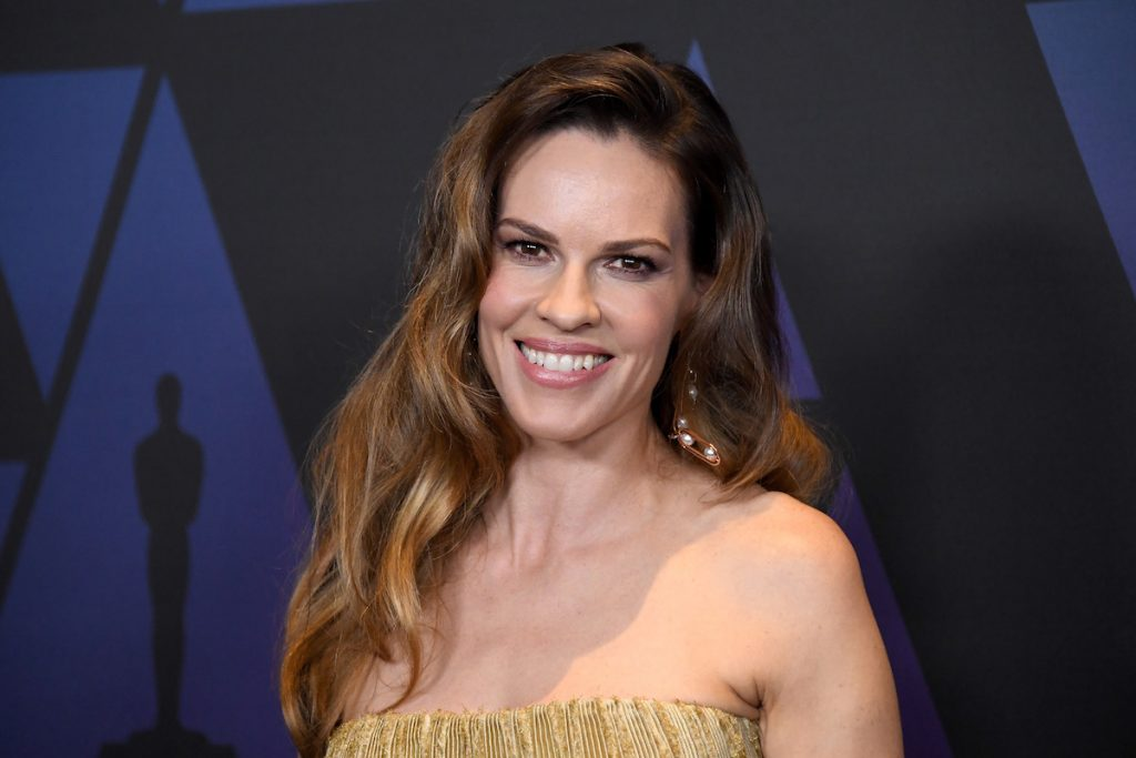 Hilary Swank attends the Academy of Motion Picture Arts and Sciences' 10th annual Governors Awards at The Ray Dolby Ballroom at Hollywood & Highland Center on November 18, 2018 in Hollywood, California.