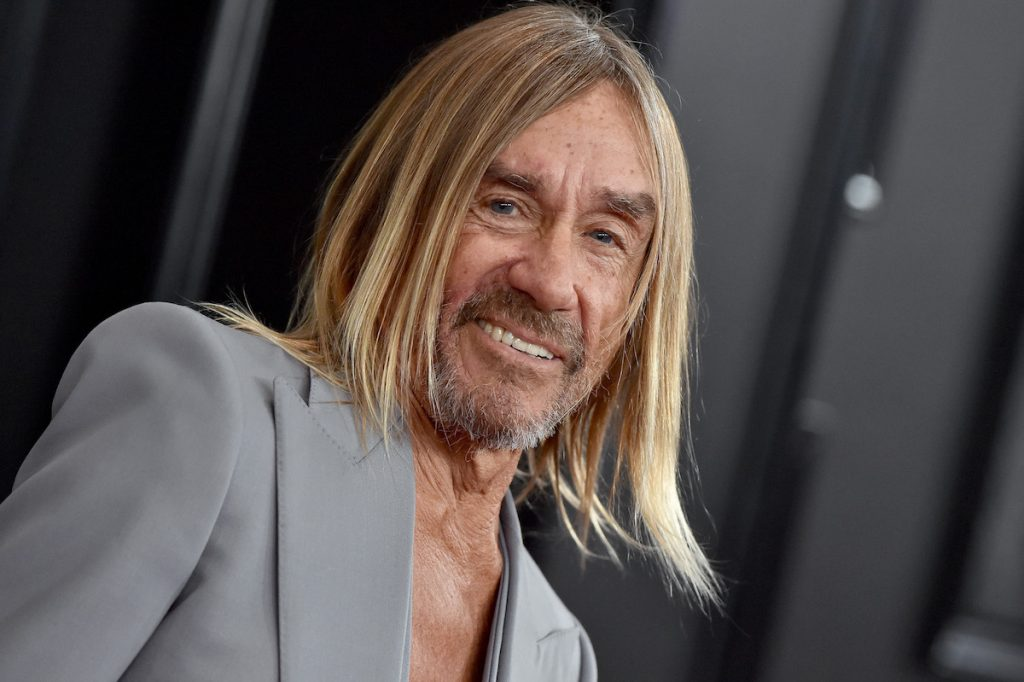 Iggy Pop attends the 62nd Annual GRAMMY Awards at Staples Center on January 26, 2020 in Los Angeles, California.