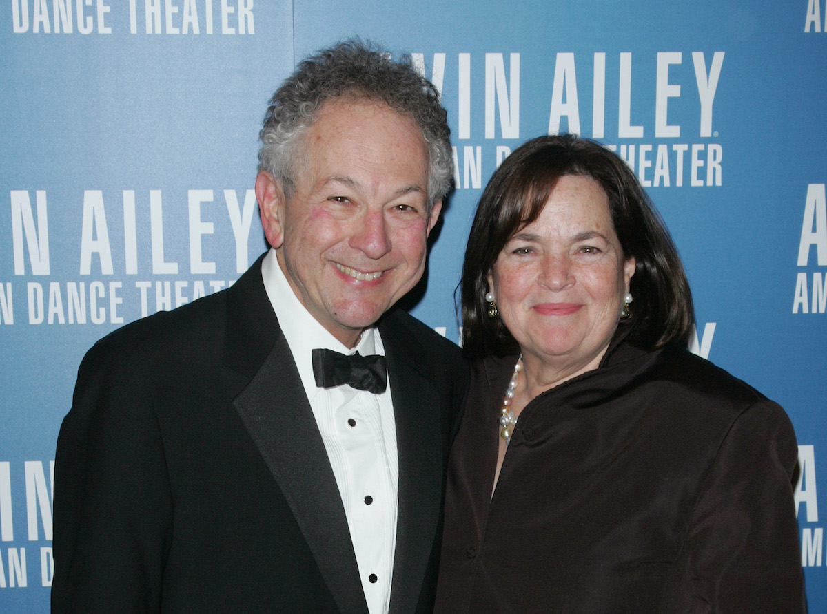 Ina Garten and Jeffrey Garten smile and pose together while attending the Alvin Ailey American Dance Theater Opening Night Gala