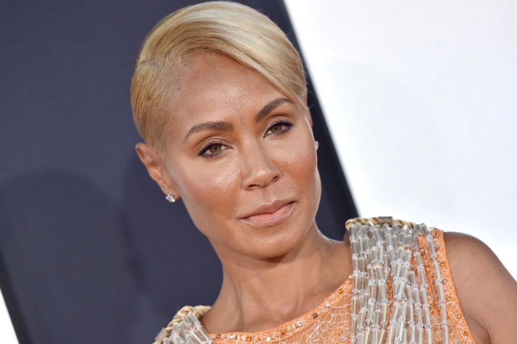 """Jada Pinkett Smith on red carpet at Paramount Pictures' Premiere of """"Gemini Man"""""""