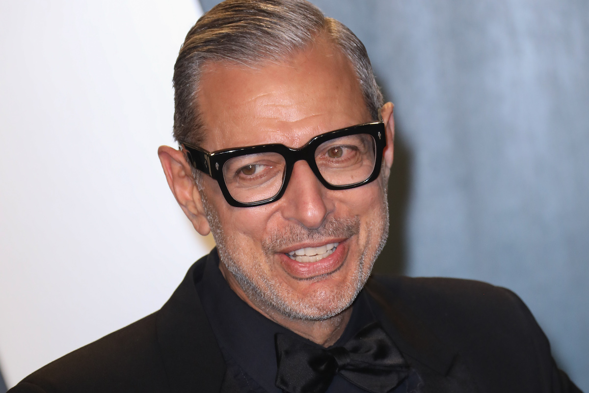 Jeff Goldblum at the 2020 Vanity Fair Oscar Party