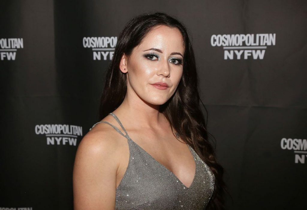 Jenelle Evans poses at the Cosmopolitan New York Fashion Week