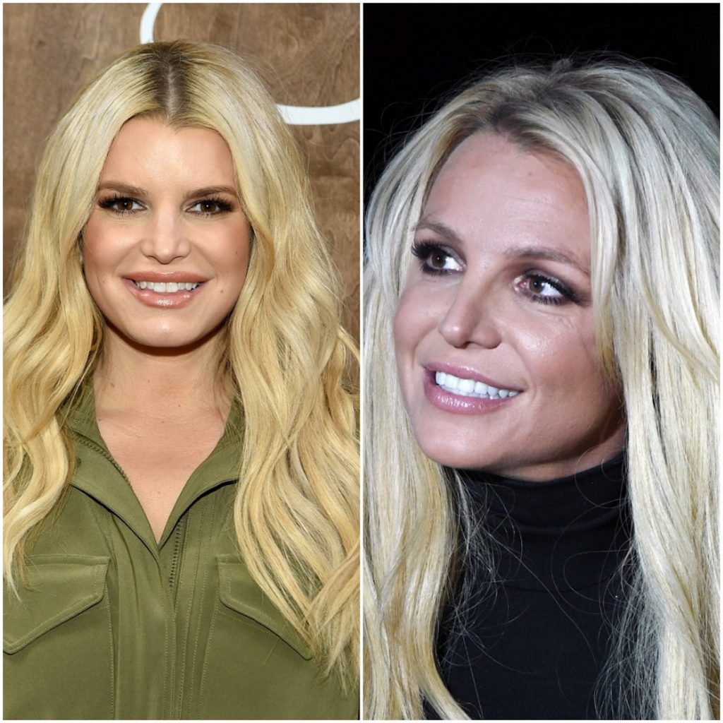 Jessica Simpson and Britney Spears