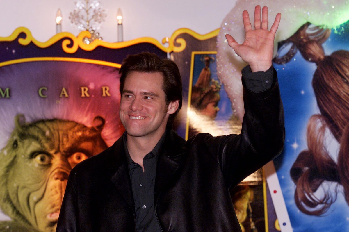 Jim Carrey at a screening of 'Dr. Seuss' How the Grinch Stole Christmas'   Franziska Krug/Getty Images