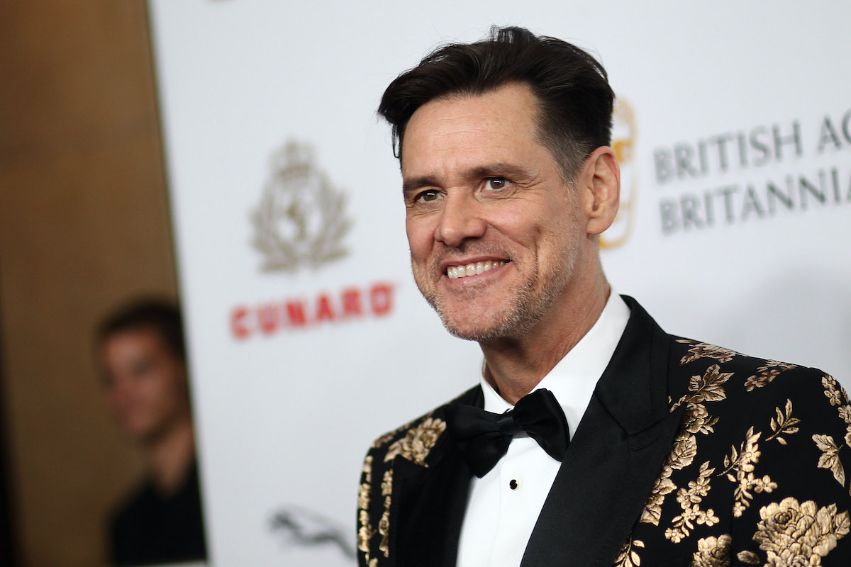 Jim Carrey at the 2018 British Academy Britannia Awards
