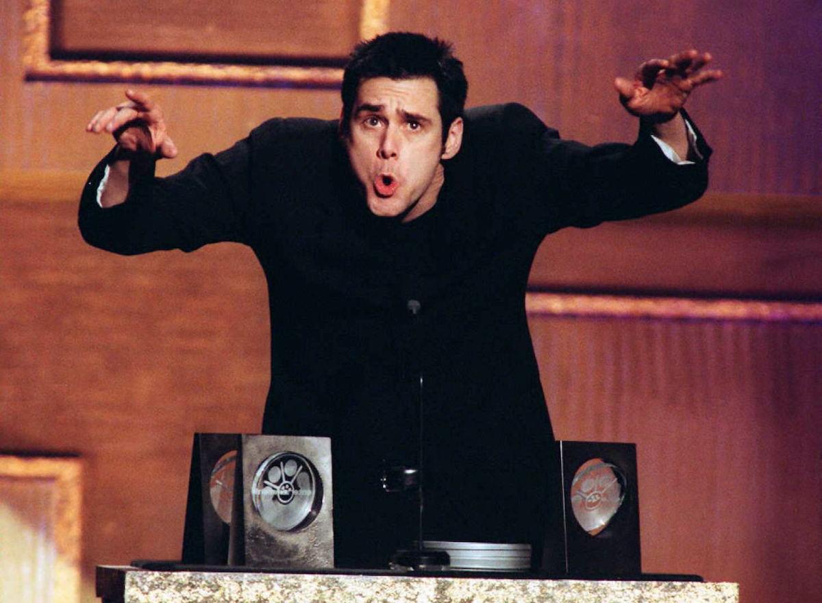 Jim Carrey at the 2nd Annual Blockbuster Awards