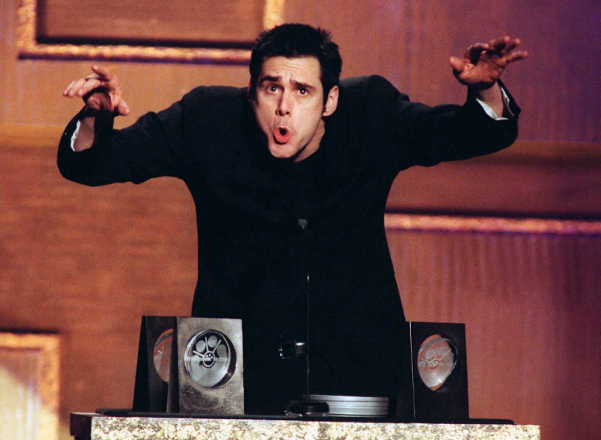 Jim Carrey at the 2nd Annual Blockbuster Awards