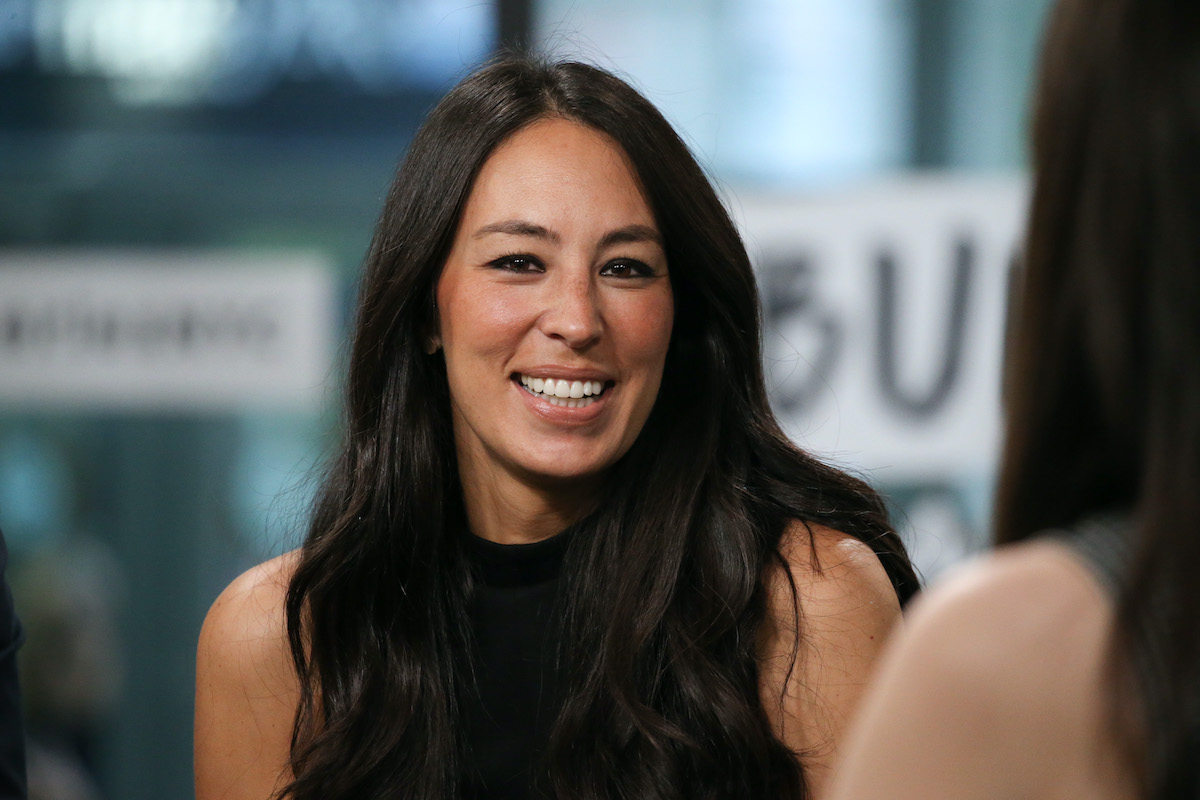 Joanna Gaines at the Build Studio in New York City