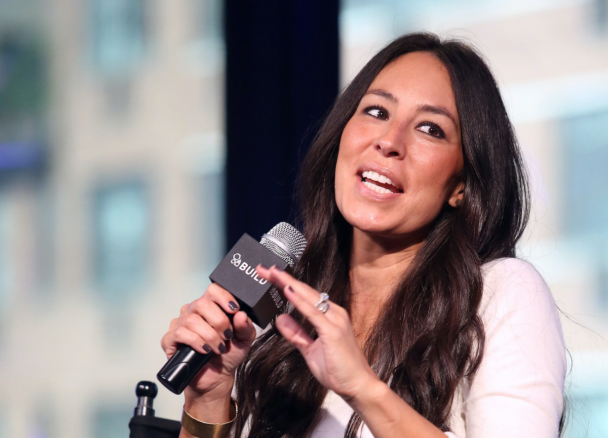Joanna Gaines speaks at The Build Series