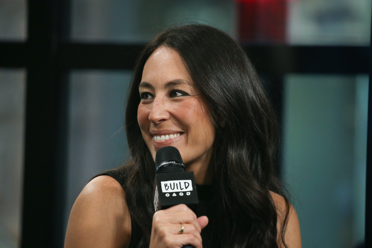 Joanna Gaines attends the AOL build series