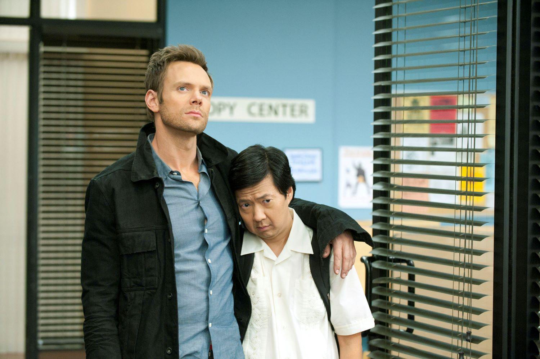 Joel McHale and Ken Jeong on 'Community'