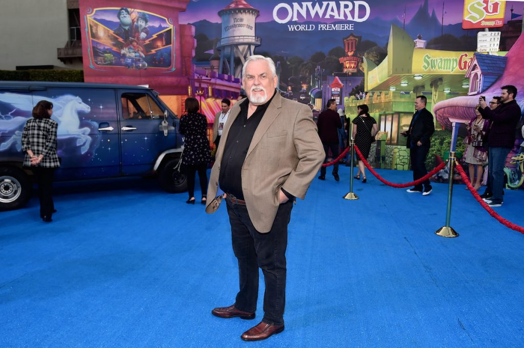 John Ratzenberger attends the world premiere of Disney and Pixar's 'Onward' at the El Capitan Theatre on February 18, 2020. in Hollywood, California.