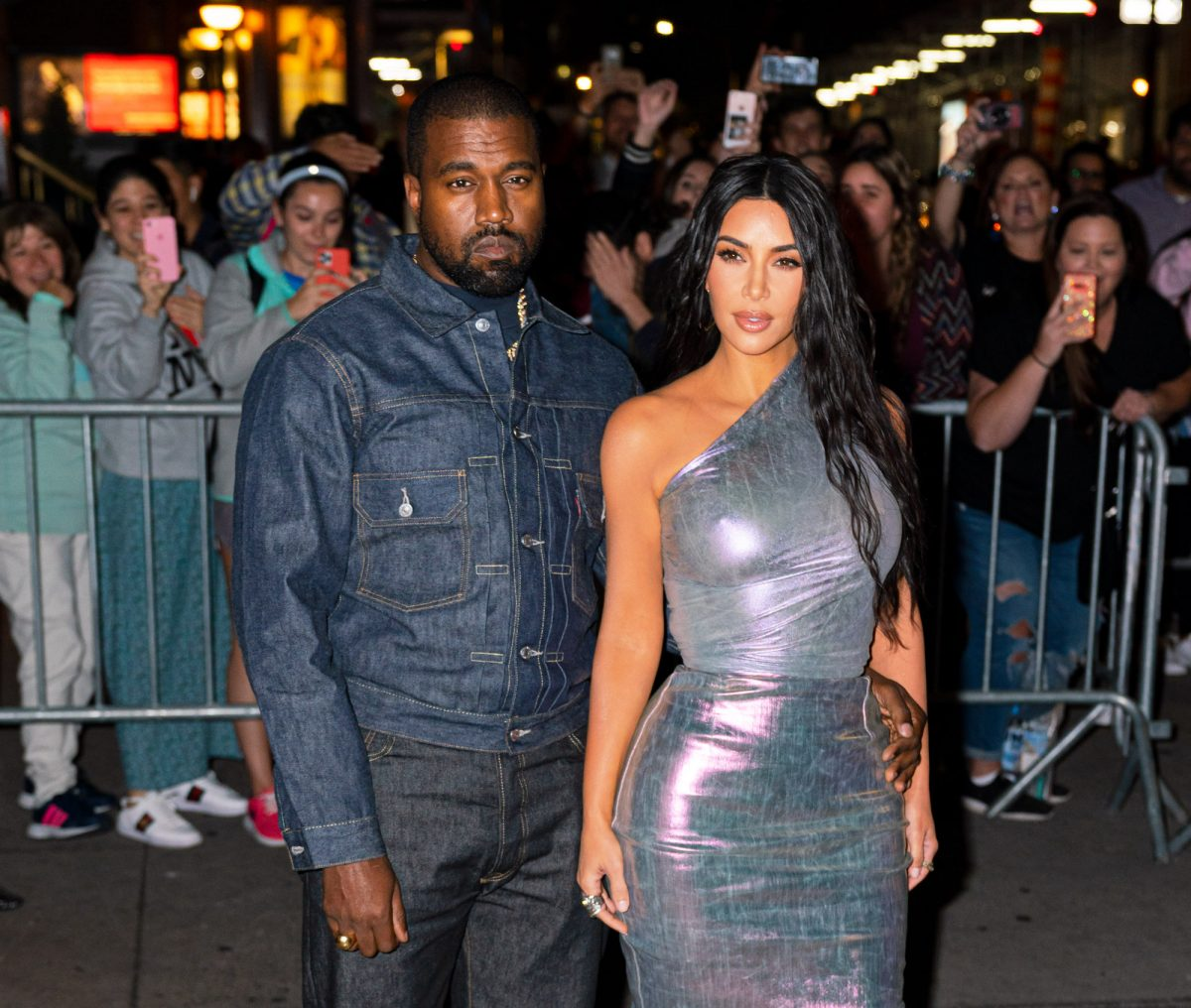 Kanye West and Kim Kardashian West attending the  FGI 36th Annual Night of Stars Gala in 2019