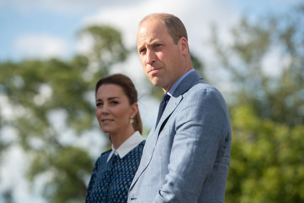 Catherine, Duchess of Cambridge and Prince William, Duke of Cambridge visit to Queen Elizabeth Hospital