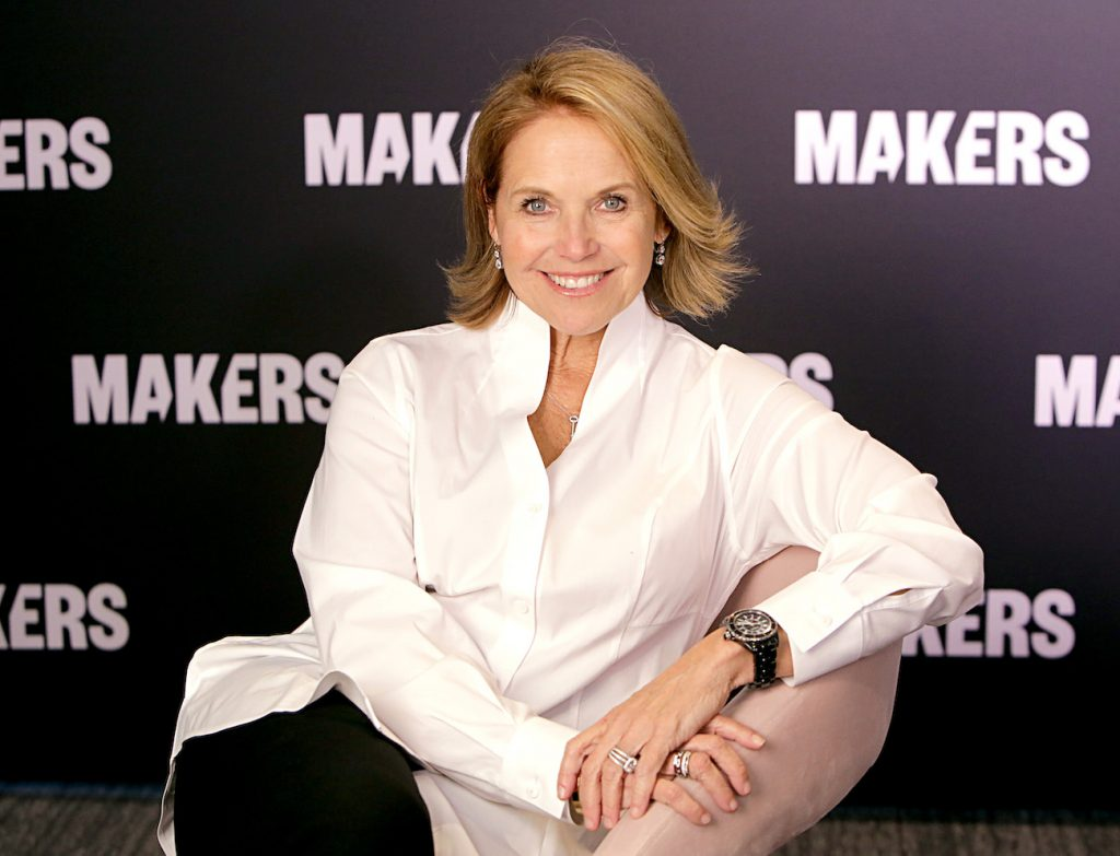 Katie Couric attends The 2020 MAKERS Conference